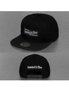 Mitchell & Ness Snapback Cap Heather 2 Tone schwarz