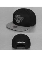 Mitchell & Ness Snapback Cap Melange Infill LA Kings schwarz