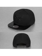 Mitchell & Ness Snapback Cap NBA Patent 2Tone Tonal Chicago Bulls schwarz