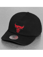 Mitchell & Ness Snapback Cap NBA Throwback Chicago Bulls schwarz