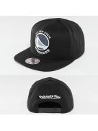 Mitchell & Ness Snapback Cap NBA Dark Hologram Golden State Warriors schwarz