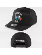 Mitchell & Ness Snapback Cap NBA Team Logo High Crown Flexfit 110 Charlotte Hornets schwarz