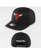 Mitchell & Ness Snapback Cap NBA Team Logo High Crown Flexfit 110 Chicago Bulls schwarz