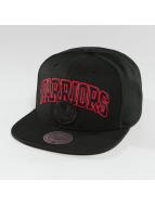 Mitchell & Ness Snapback Cap Red Pop Golden State Warriors schwarz