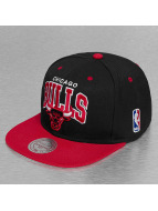 Mitchell & Ness Chicago Bulls Snapback Cap Black/Red