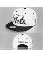 Mitchell & Ness snapback cap Sonic Brooklyn Nets wit