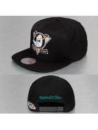 Mitchell & Ness snapback cap Wool Solid zwart