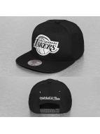 Mitchell & Ness snapback cap Black White NBA LA Lakers zwart