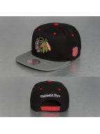 Mitchell & Ness snapback cap Greytist Chicago Blackhawks zwart