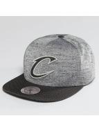Mitchell & Ness snapback cap NBA Space Knit Crown PU Visor Cleveland Cavaliers zwart