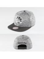Mitchell & Ness snapback cap NBA Space Knit Crown PU Visor Golden State Warriors zwart