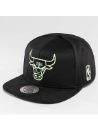 Mitchell & Ness snapback cap Black Sports Mesh Chicago Bulls zwart