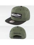 Mitchell & Ness Snapback Capler Box Logo zeytin yeşili