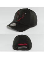 Mitchell & Ness Snapback Caps NBA Hot Stamp Contrast Chicago Bulls čern