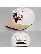 Mitchell & Ness Snapback Caps Cross Over SB Chicago Bulls bialy