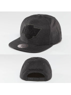 Mitchell & Ness Snapback Caps Cut Heather LA Kings czarny