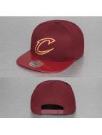 Mitchell & Ness Snapback Caps NBA Patent 2Tone Tonal Cleveland Cavaliers czerwony