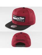 Mitchell & Ness Snapback Caps Box Logo czerwony