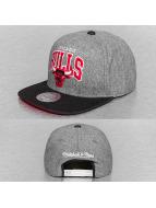 Mitchell & Ness Snapback Caps Assist Chicago Bulls grå