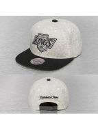 Mitchell & Ness Snapback Caps Melange Flannel NHL LA Kings harmaa