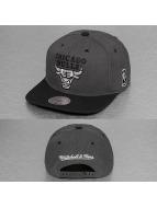 Mitchell & Ness Snapback Caps G3 Chicago Bulls Logo harmaa