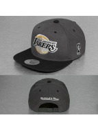 Mitchell & Ness Snapback Caps G3 LA Lakers Logo harmaa