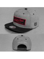 Mitchell & Ness Snapback Caps Backboard harmaa