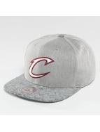 Mitchell & Ness Snapback Caps NBA Cracked Cleveland Cavaliers harmaa