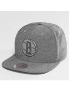Mitchell & Ness Snapback Caps NBA Italian Washed Brooklyn Nets harmaa