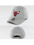 Mitchell & Ness Snapback Caps NBA Team Logo Low Pro Chicago Bulls harmaa