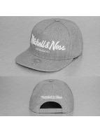 Mitchell & Ness Snapback Caps Pinscript harmaa