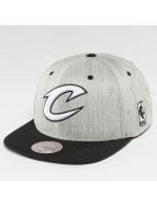 Mitchell & Ness Snapback Caps NBA 3-Tone Logo Cleveland Cavaliers harmaa