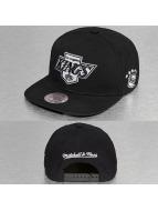 Mitchell & Ness Snapback Caps Black & White LA Kings musta