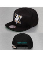 Mitchell & Ness Snapback Caps Wool Solid musta