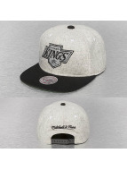 Mitchell & Ness Snapback Caps Melange Flannel NHL LA Kings musta