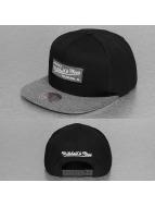 Mitchell & Ness Snapback Caps Melange Infill musta