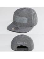 Mitchell & Ness Snapback Caps Italian Washed szary