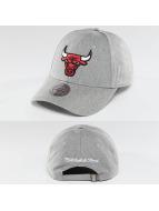 Mitchell & Ness Snapback Caps NBA Team Logo Low Pro Chicago Bulls szary
