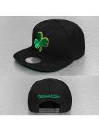 Mitchell & Ness Snapback Wool Solid Celtics noir