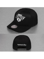 Mitchell & Ness Snapback Black& White Logo 110 LA Kings noir