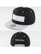 Mitchell & Ness Snapback Box Logo noir