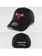 Mitchell & Ness Snapback NBA Team Logo Low Pro Chicago Bulls noir