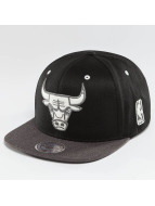 Mitchell & Ness Snapback NBA 2-Tone Logo Chicago Bulls noir