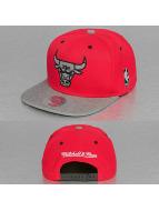 Mitchell & Ness Snapback Greytist Chicago Bulls rouge