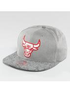 Mitchell & Ness Snapbackkeps NBA Cracked Chicago Bulls grå