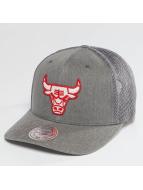 Mitchell & Ness Trucker Cap BA Washout 110 Flexfit Chicago Bulls grau