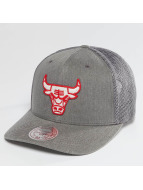 Mitchell & Ness Trucker Cap BA Washout 110 Flexfit Chicago Bulls grey