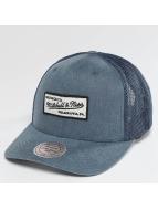 Mitchell & Ness Trucker Caps Washout 110 Flexfit niebieski