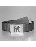 MLB Ремень MLB NY Yankees Premium Woven серый