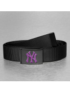 MLB Ремень MLB NY Yankees Premium Black Woven Single черный
